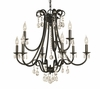 Framburg Lighting (2999) 9-Light Liebestraum Dining Chandelier