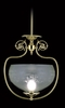 Framburg Lighting (7801) Single Light Pendant from the Chancery Collection