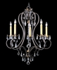 Framburg Lighting (9905) Five Light Chandelier from the Liebstraum Collection