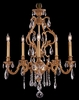 Framburg Lighting - Appassionata Dining Chandeliers in Bronzed Gold Leaf - FBG-9955