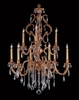 Framburg Lighting (9959) Nine Light Chandelier from the Czarina Collection