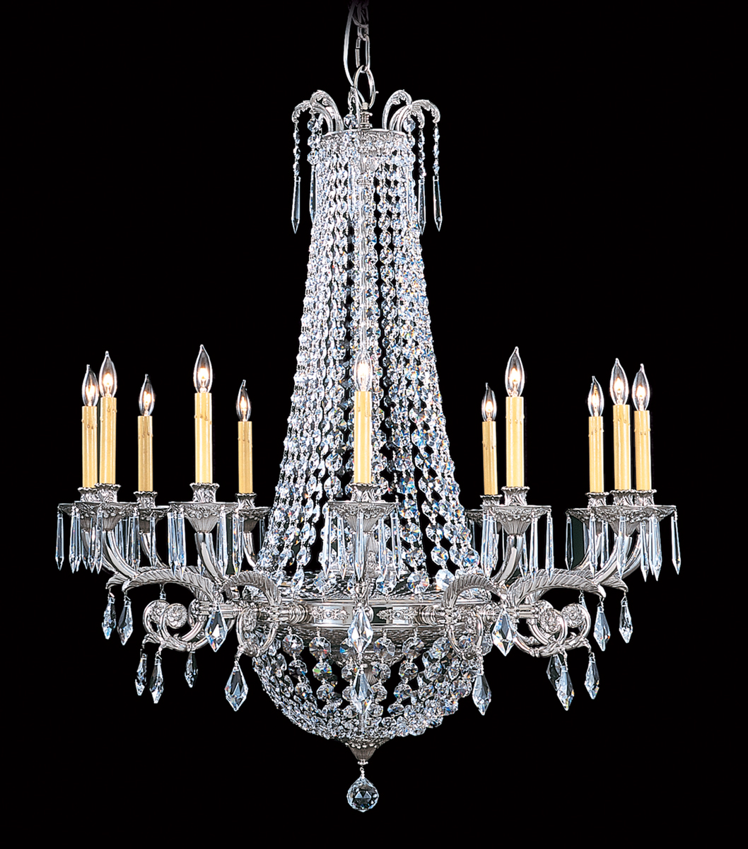 Framburg Lighting 1152 12 Light Czarina Foyer Chandelier