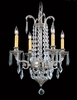 Framburg Lighting (1144) Four Light Chandelier from the Czarina Collection