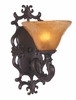 Framburg Lighting (1501) Single Light Bath Fixture from the Centennial Collection