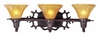 Framburg Lighting (1503) Three Light Bath Fixture from the Centennial Collection