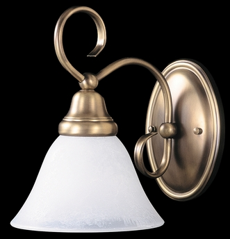 Framburg Lighting (9171) Single Light Bath Fixture from the Black Forest Collection