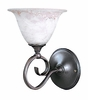 Framburg Lighting (9151) 1-Light Black Forest Wall Sconce