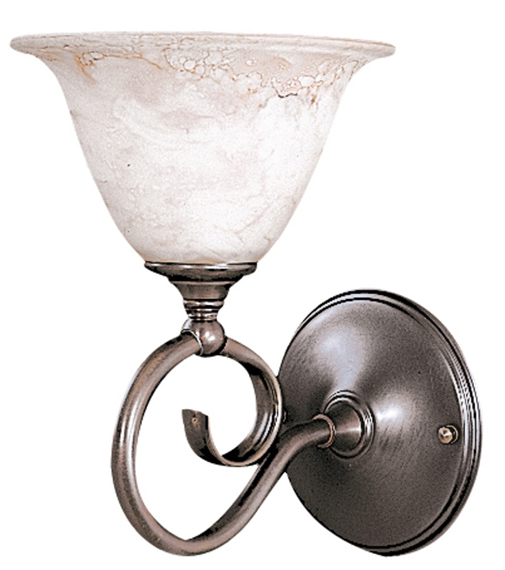 Framburg Lighting - Black Forest Bath and Sconces in Mahogany Bronze/Amber Marble - FBG-9151