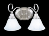 Framburg Lighting (9172) Two Light Bath Fixture from the Black Forest Collection
