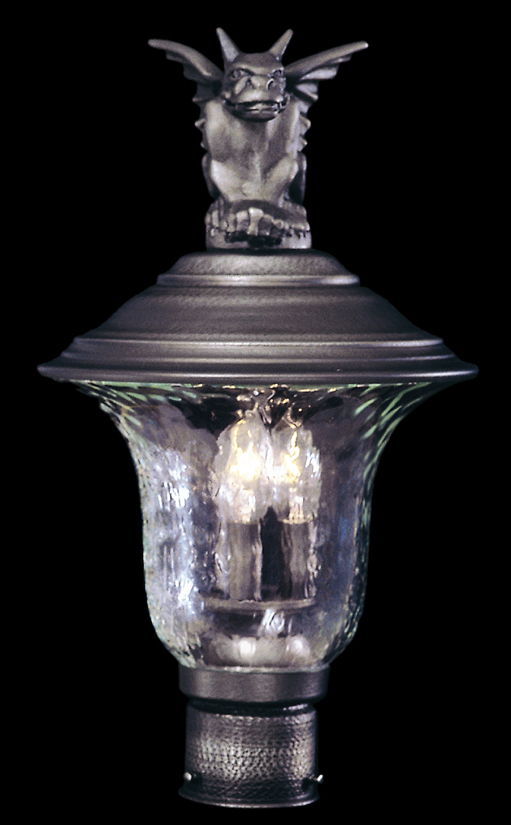 Framburg Lighting - Carcassonne Exterior in Iron - FBG-8506
