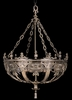 Framburg Lighting - Centennial Foyer Chandeliers in French Brass - FBG-1648