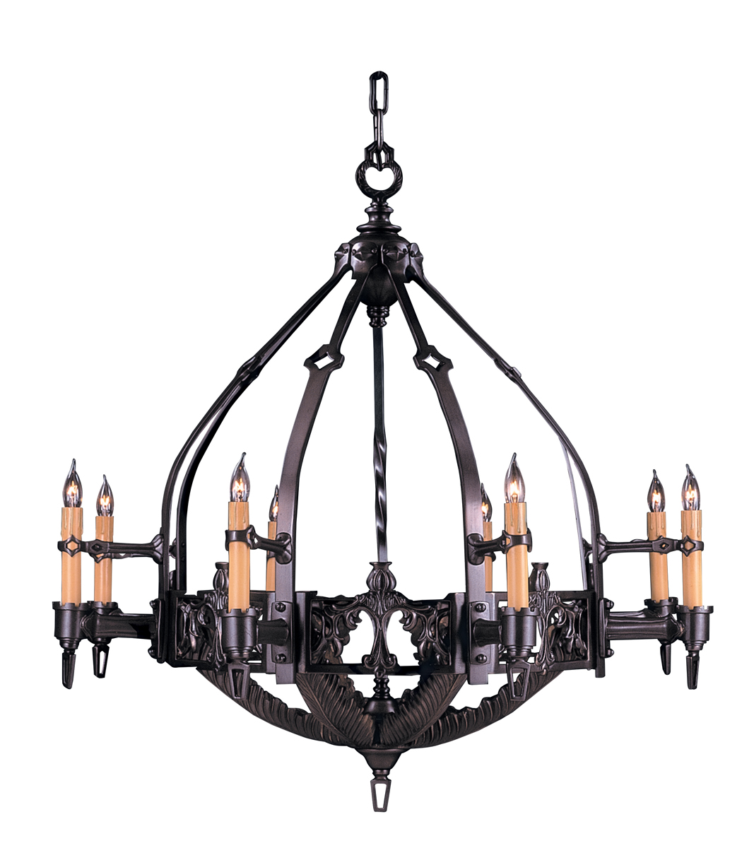 Framburg Lighting (1658) 8-Light Centennial Foyer Chandelier