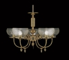 Framburg Lighting (7525) Five Light Chandelier from the Chancery Collection
