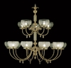 Framburg Lighting (7515) Fifteen Light Chandelier from the Chancery Collection