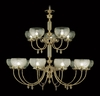 Framburg Lighting (7515) 15-Light Chancery Foyer Chandelier