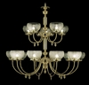Framburg Lighting - Chancery Foyer Chandeliers in Polished Brass - FBG-7515