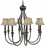 Framburg Lighting (1298) 8-Light Princessa Foyer Chandelier