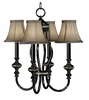 Framburg Lighting (1294) 4-Light Princessa Mini Chandelier