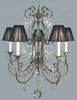 Framburg Lighting (1355) Five Light Chandelier from the Princessa Collection