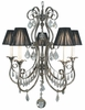 Framburg Lighting (1355) 5-Light Princessa Dining Chandelier