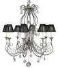 Framburg Lighting (1358) Eight Light Chandelier from the Princessa Collection