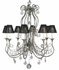 Framburg Lighting (1358) 8-Light Princessa Dining Chandelier