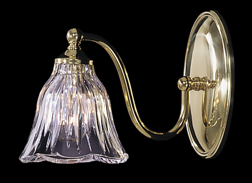 Framburg Lighting - Crystal Nouveau Bath and Sconces in Polished Brass - FBG-8171