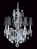 Framburg Lighting (9285) Five Light Chandelier from the Czarina Collection
