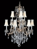 Framburg Lighting (9289) Nine Light Chandelier from the Czarina Collection