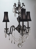 Framburg Lighting (9283) Three Light Chandelier from the Czarina Collection