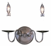 Framburg Lighting - Early American Bath and Sconces in Mahogany Bronze - FBG-9222