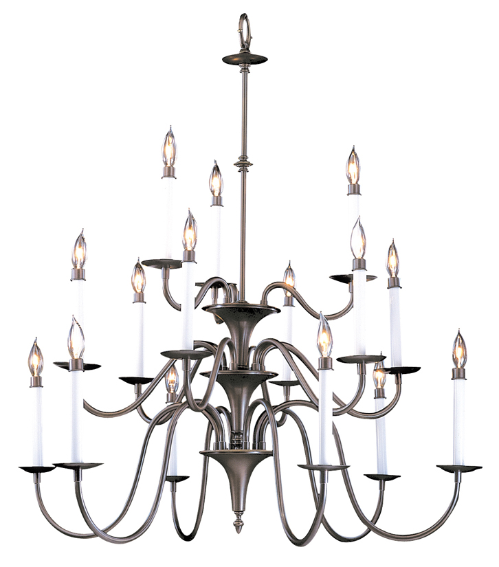 Framburg Lighting - Early American Foyer Chandeliers in Mahogany Bronze - FBG-9235