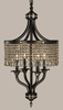 Framburg Lighting (1494) 4-Light Princessa Dinette Chandelier