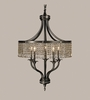 Framburg Lighting (1495) Five Light Chandelier from the Princessa Collection