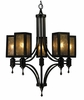 Framburg Lighting - Evolution  Dining Chandeliers in Ebony - FBG-1415