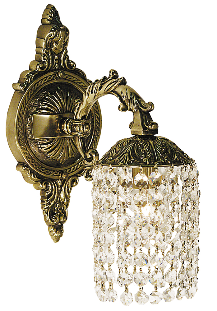 Framburg Lighting (1821) Single Light Sconce from the Czarina Collection