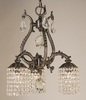 Framburg Lighting (1823) Three Light Chandelier from the Czarina Collection