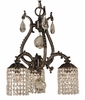 Framburg Lighting - Faustina Dinette Chandeliers in Siena Bronze - FBG-1823