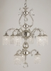 Framburg Lighting (1829) 9-Light Czarina Dining Chandelier