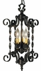 Framburg Lighting - Galicia Mini Chandeliers in Charcoal - FBG-1573