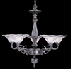 Framburg Lighting - Geneva Dining Chandeliers in Mahogany Bronze - FBG-8625