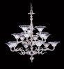 Framburg Lighting (8623) 15-Light Geneva Foyer Chandelier