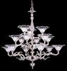 Framburg Lighting - Geneva Foyer Chandeliers in Polished Silver - FBG-8623