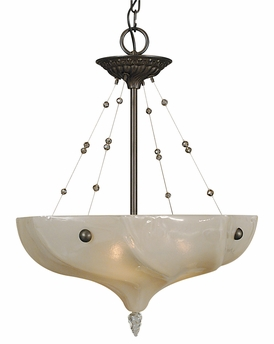 Framburg Lighting - Giselle Dining Chandeliers in Mahogany Bronze - FBG-3470