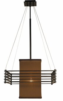 Framburg Lighting - Gymnopedie Dining Chandeliers in Mahogany bronze w/ Chocolate - FBG-2126