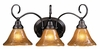 Framburg Lighting - H�uschen Bath and Sconces in Mahogany Bronze - FBG-1773