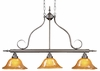 Framburg Lighting - H�uschen Island Chandeliers in Mahogany Bronze - FBG-1763