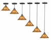 Framburg Lighting - H�uschen Pendants in Mahogany Bronze - FBG-1761