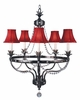 Framburg Lighting (2065) 5-Light Princessa Dining Chandelier