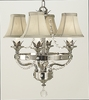 Framburg Lighting (2064) Four Light Chandelier from the Princessa Collection